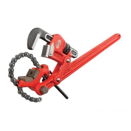 Сложнорычажный трубный ключ