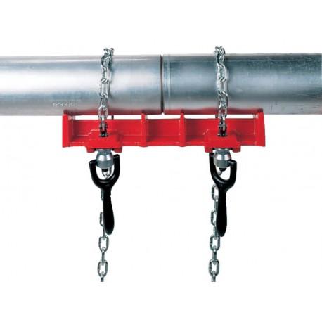 Тиски для сварки прямых труб