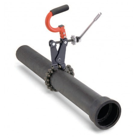 Труборез для резки сточных труб на месте модели 226