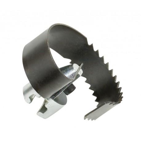 Насадка нож спиральный зубчатый